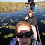 Met een Mokoro door de Okavanga Delta