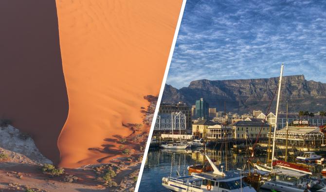 Beleef Namibië & Zuid-Afrika